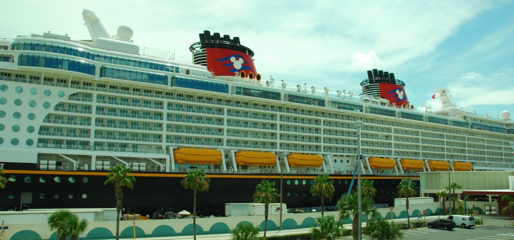 The Disney Dream at Port Canaveral