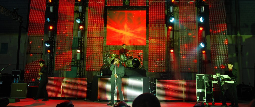 Newsboys  Glory at the Gardens performance in 2012