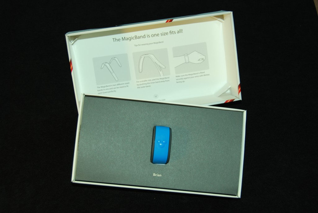 Disney MagicBand Packaging